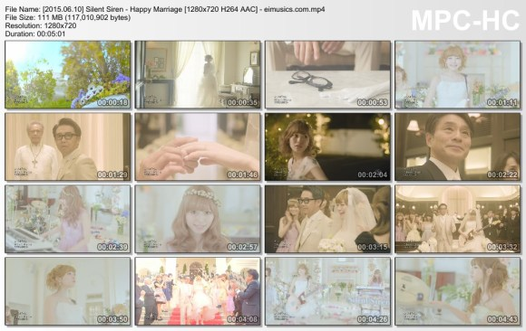 Download Silent Siren - Happy Marriage [720p]   [PV]