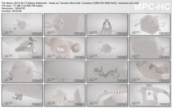 Download Maaya Sakamoto - Anata wo Tamotsu Mono feat. Cornelius [720p]   [PV]