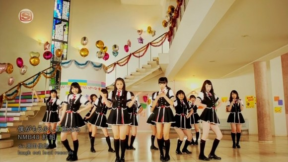 [EIMUSICS] NMB48 (Akagumi) - Boku ga Mou Sukoshi Daitan Nara [720p]   [2012.05.09].mkv_snapshot_04.37_[2015.07.30_03.19.29]
