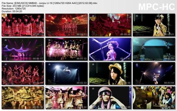 [EIMUSICS] NMB48 - Junjou U-19 [720p]   [2012.02.08].mkv_thumbs_[2015.07.30_02.56.45]