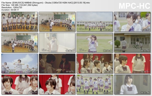 [EIMUSICS] NMB48 (Shirogumi) - Okuba [720p]   [2013.05.19].mkv_thumbs_[2015.07.30_03.26.28]