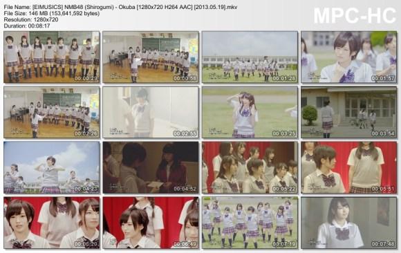 [EIMUSICS] NMB48 (Shirogumi) - Okuba [720p]   [2013.05.19].mkv_thumbs_[2015.07.30_03.26.28]