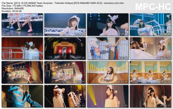 [2014.10.25] AKB48 Team Surprise - Tokimeki Antique (DVD) [480p]  - eimusics.com.mkv_thumbs_[2015.08.13_04.40.01]