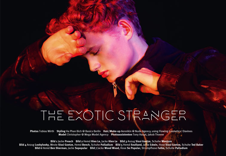 THE EXOTIC STRANGER by Tobias Wirth