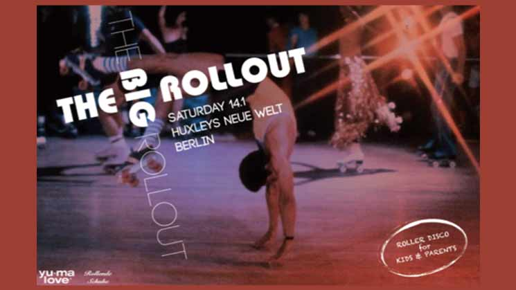 GET UP – ROLLER DISCO PARTY