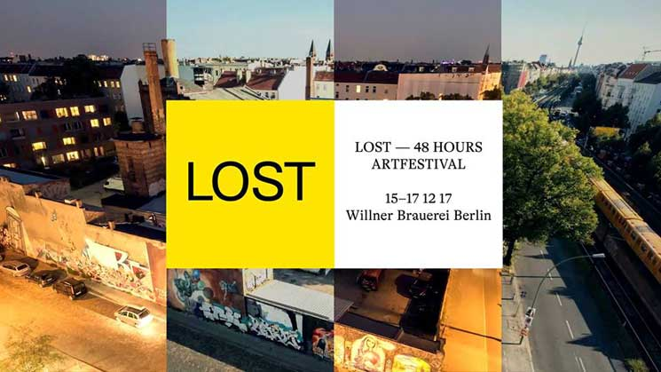 LOST – 48 HOURS ARTFESTIVAL WILLNER BRAUEREI