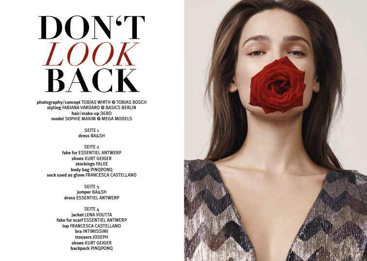 DON'T LOOK BACK BY TOBIAS WIRTH