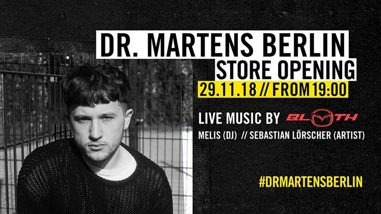 DR. MARTENS STORE OPENING EVENT