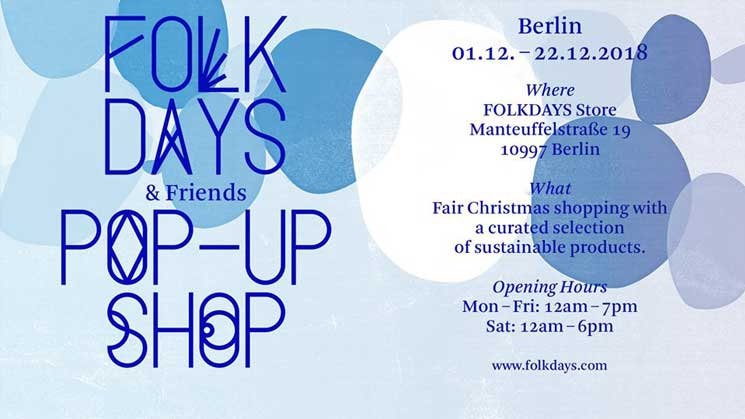 FOLKDAYS & FRIENDS POP-UP SHOP