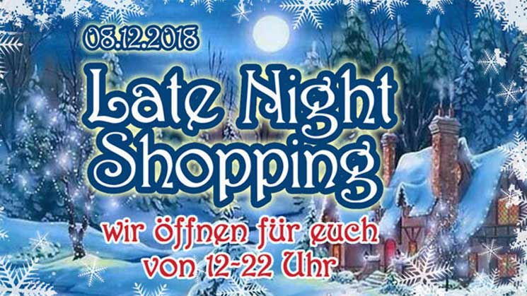 LATE NIGHT SHOPPING BEIM STRYCHNIN STORE