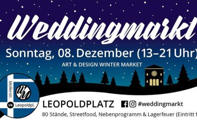 WEDDINGMARKT WIRD WINTERMARKT