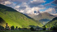 كازبكي قرية سنو