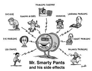 Kilde: http://emfsafetynetwork.org/smart-meters/smart-meter-health-complaints/
