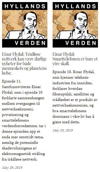 Einar Flydal i Hyllands verden