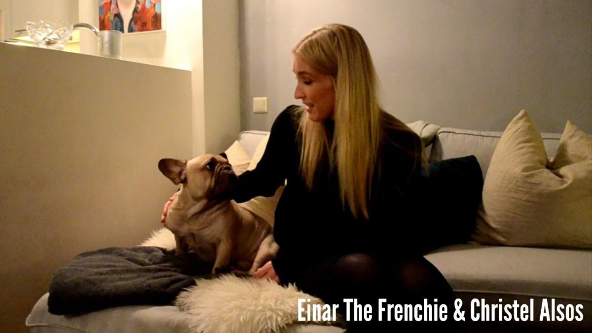 Se hvordan hunden Einar reagerer når han får godnatt-sang av Christel Alsos!