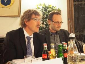Frank Doods (l.), Ulrich Minkner.