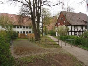 Wie geht's weiter? Haus der Jugend (links), PS-Speicher im Kornhaus und Jugendgästehaus (rechts).