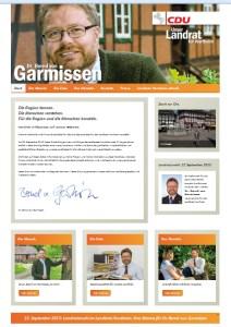 Screenshot 3.8.2013 Website Garmissen.de
