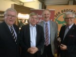 Dirk Steffes, Hartmut Möllring, Joachim Stünkel und Walter Schmidt. Foto: CDU