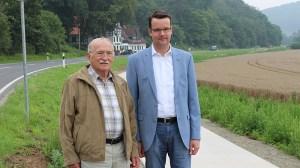 Sie machen den Weg frei: Christian Grascha (r.) und Reiner Jordan.