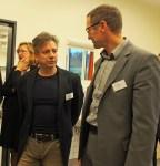 Francesco de Meo im Gespräch mit dem CDU-MdB und Gesundheitspolitiker Dr. Roy Kühne.