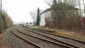 Noch fährt kein Zug.