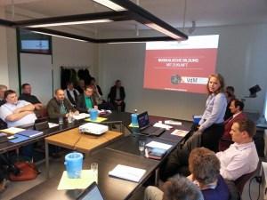 Christina Heise stellte die MMS im April-Kulturausschuss vor.