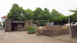 Das Gemeindehaus der evangelischen Kirchengemeinde auf dem Neustädter Kirchplatz.