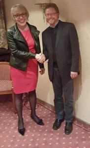 Heidrun Hoffmann-Taufall und Dr. Bernd von Garmissen. Foto: CDU/FU