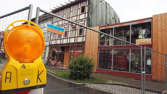 Die Altendorfer Straße in Einbeck in Höhe von Haus Nummer 26 ist voll gesperrt. Umleitungen sind eingerichtet.