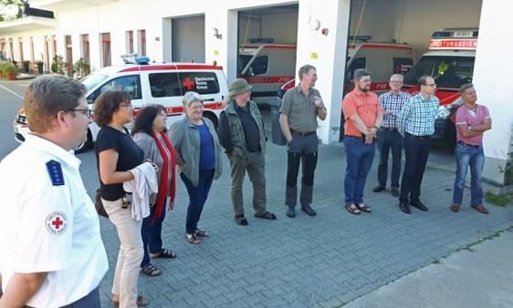 SPD besucht die Rettungswache des DRK in Einbeck.