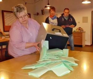 In Bentierode waren mit 70 Wählern 44 Prozent der Wahlberechtigten bei der Wiederholungswahl.