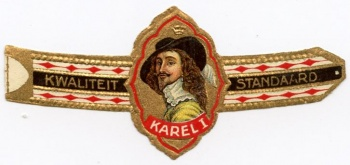 Karel I cigar band