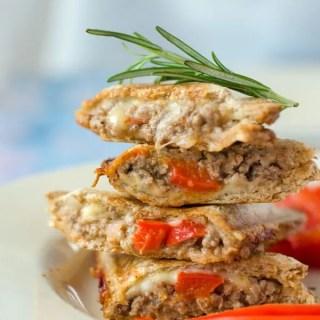 Feta-Paprika-Hackfleisch