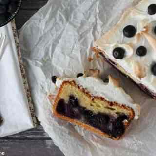 Heidelbeer-Quark-Kuchen mit Baiser (Gastbeitrag)