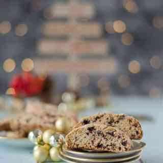 Blogging under the mistletoe – Tür 14: Cantuccini mit Cranberries