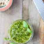 Köstlich aromatisches Pesto alla Genovese - Basilkumpesto. Simpel, aber so unglaublich lecker!
