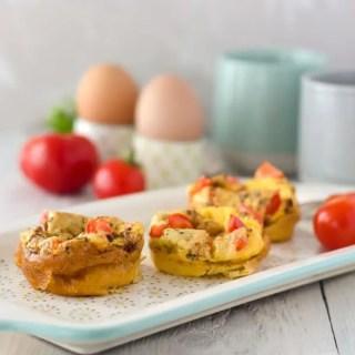 Ei-Muffins – perfektes Low Carb Frühstück