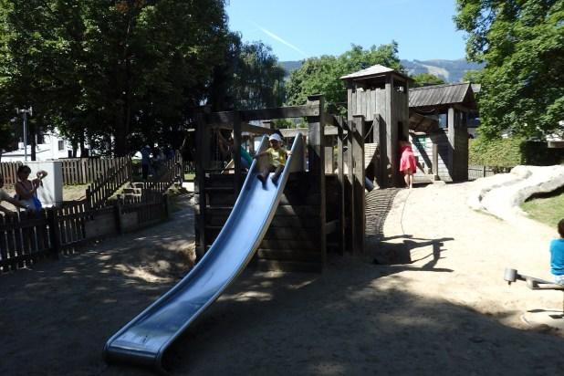 Die Top 11 Ausflugsziele in Zell am See/Kaprun mit Kindern: Spielplatz in Zell am See
