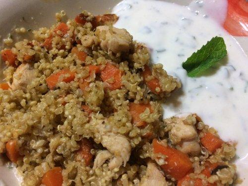 Lamm-mit Quinoa