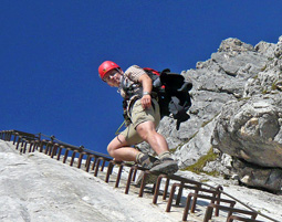 Klettersteig Tour fuer Fortgeschrittene