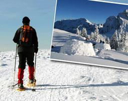 Schneeschuhtour & Uebernachtung im Iglu