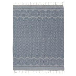 Decke. Maße: ca. B130 x L170 cm, Gewicht: ca. 0,5 kg, Material: 100% Baumwolle.<br>