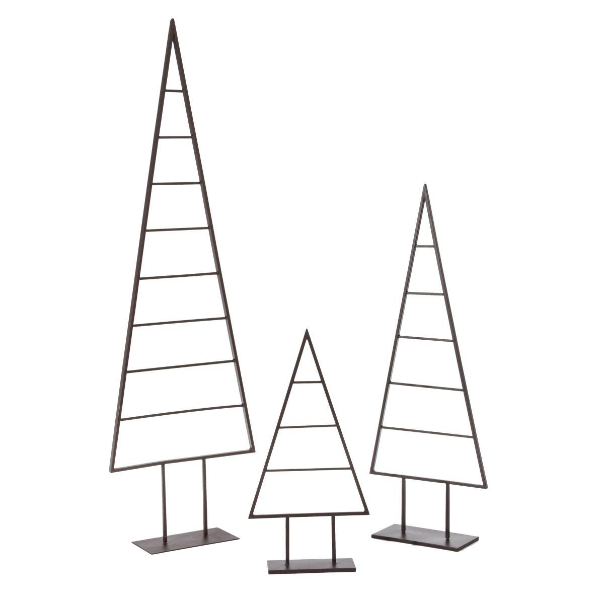 deko objekt christbaum dekorierbar metall einfach. Black Bedroom Furniture Sets. Home Design Ideas