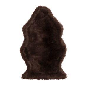 Schönes Schaffellimitat zur Dekoration oder zum Reinkuscheln. Maße: ca. 60 x 95 cm, Gewicht: ca. 0,5 kg, Material: 80% Polyacryl, 20% Polyester.<br>