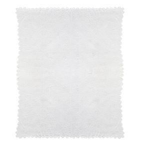 Im Loch-Strick-Muster. Maße: ca. 220 x 250 cm, Gewicht: ca. 1,9 kg, Material: 100% Baumwolle.<br>