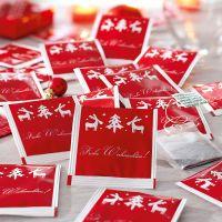 Weihnachts-Tee-Set, 45-tlg. Rudi, aromatisierter Schwarztee