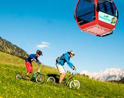 Mit dem Sommer-Express durchs Tiroler Zugspitzgebiet!