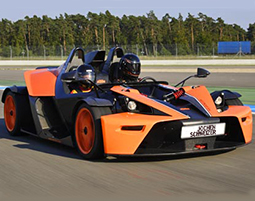 Wahnsinnsfahrt in Batmans neuem Auto.