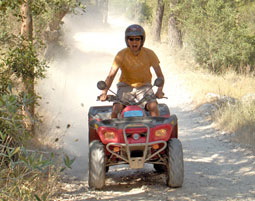 In Istrien ist das Quad los!
